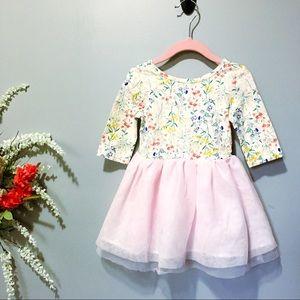 Old Navy | Floral + Tulle Tutu Dress 18/24M NWOT